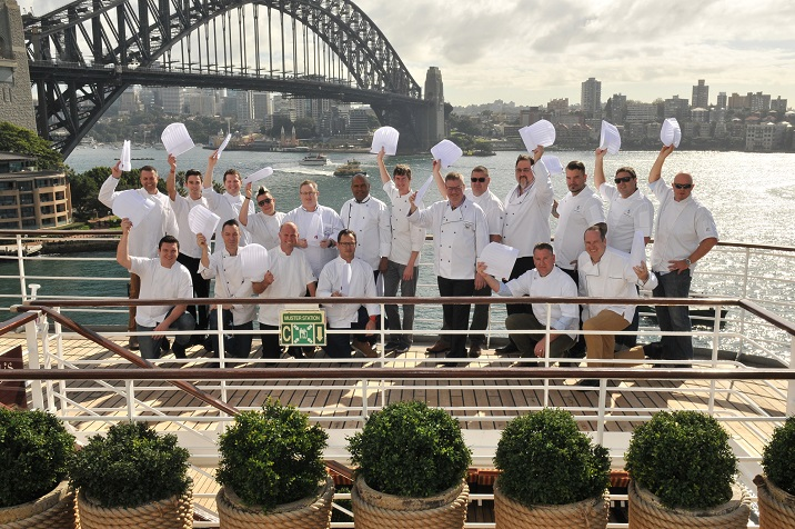 Executive Chefs all at Sea as P&O Cruises Hosts Special Long Lunch