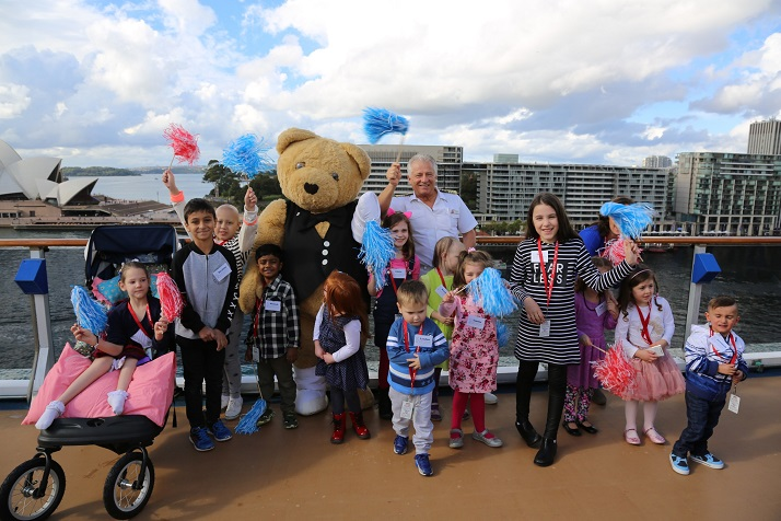 Carnival Cruise Line Gets a Wiggle On for New Charity Partnership with The Children's Hospital at Westmead