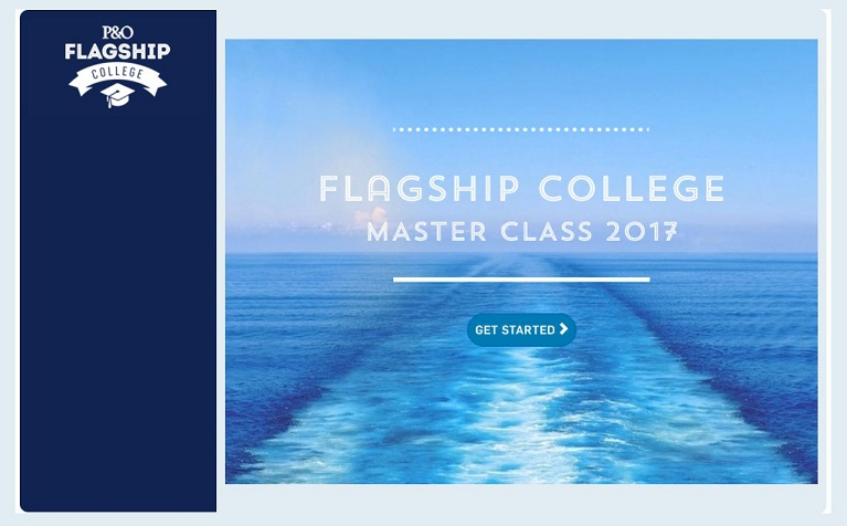 P&O Cruises Launches First Flagship College Master Class