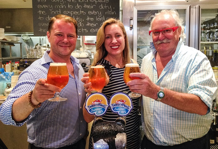 Carnival Cruise Line and Lord Nelson Raise a Glass to ThirstyFrog's 200,000th Milestone