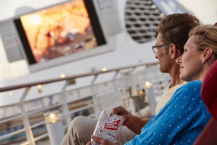 Princess Cruises' Travelling Film Festival Trilogy