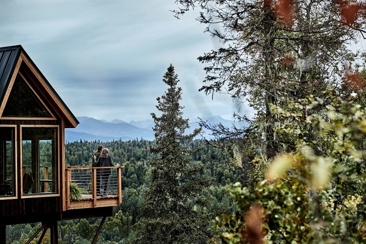 PRINCESS CRUISES UNVEILS WILDERNESS TREEHOUSE NEW ALASKAN GUESTHOUSE FEATURED ON U.S. ANIMAL PLANET