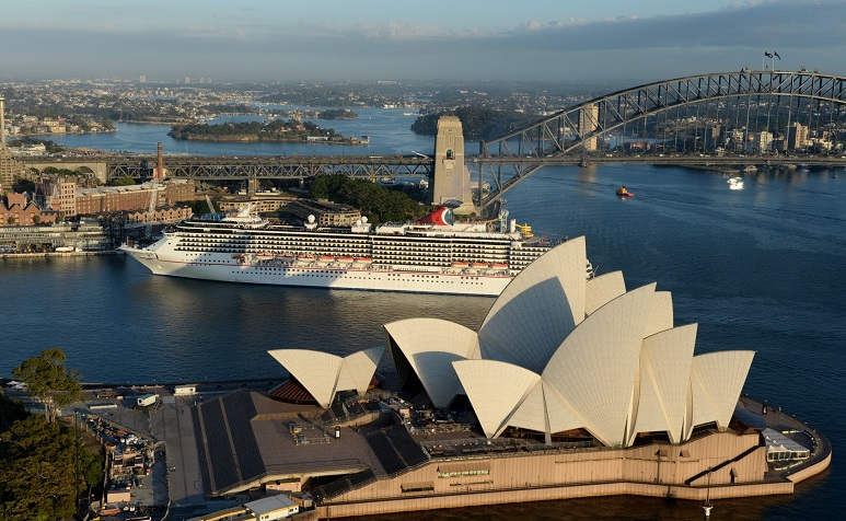 Carnival Legend Departs Sydney Ahead of $65M Dry Dock