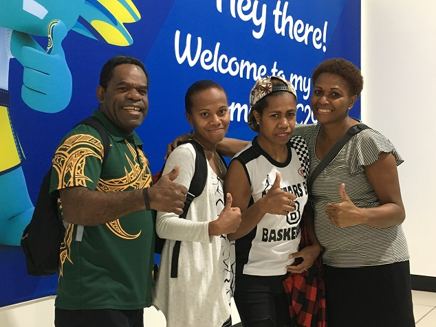 P&O Cruises' Ni Vanuatu Crew Members Become Special Commonwealth Games Cheer Squad for Vanuatu Women's Volleyball Stars