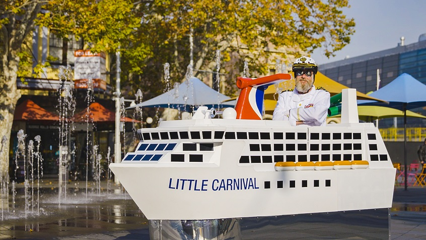 Little Carnival, Australia's Newest and Smallest Ship Unveiled
