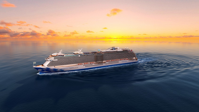 Princess Cruises Reveals Name of Fifth Royal-Class Ship As Fleet Expansion Continues