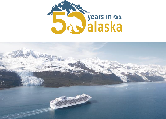 RUBY PRINCESS OPENS PRINCESS CRUISES' 50TH ALASKA SEASON RECORD-BREAKING DEPLOYMENT FEATURES 7 SHIPS, LARGEST PRINCESS SHIP IN THE REGION, AND MEDALLIONCLASS™ DEBUT