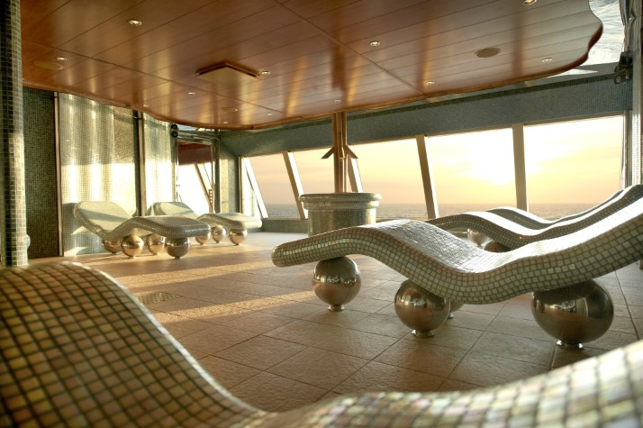 Carnival Splendor to pamper Aussies with its spa and fitness amenities