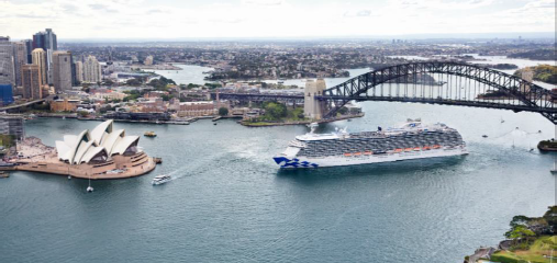 PRINCESS CRUISES' MEGALINER MAJESTIC PRINCESS RETURNS TO SYDNEY LAUNCHING RECORD AUSTRALIAN CRUISE SEASON
