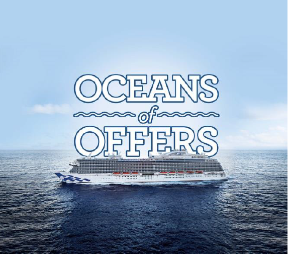 Princess Cruises Launches Ocean of Offers, their Best Sale Ever, with the Best Value, On All Destinations