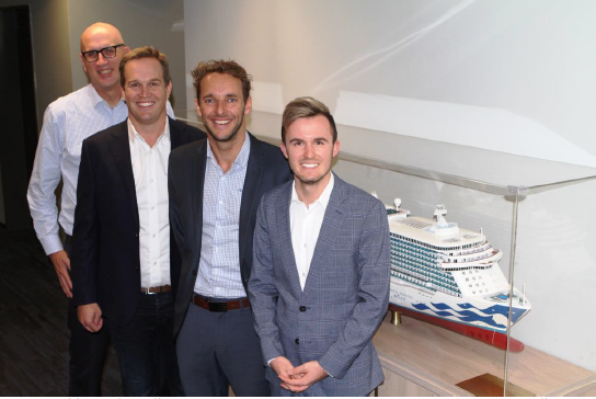 PRINCESS CRUISES' AUSTRALIA SALES TEAM MOVES TO FURTHER STRENGTHEN TRADE RELATIONS