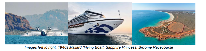 PRINCESS CRUISES ANNOUNCE NEW DETAILS ON SAPPHIRE PRINCESS' INAUGURAL SEASON IN WESTERN AUSTRALIA