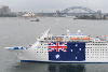 Cruise Ship Pacific Sun Takes Centre Stage for Australia Day Celebrations