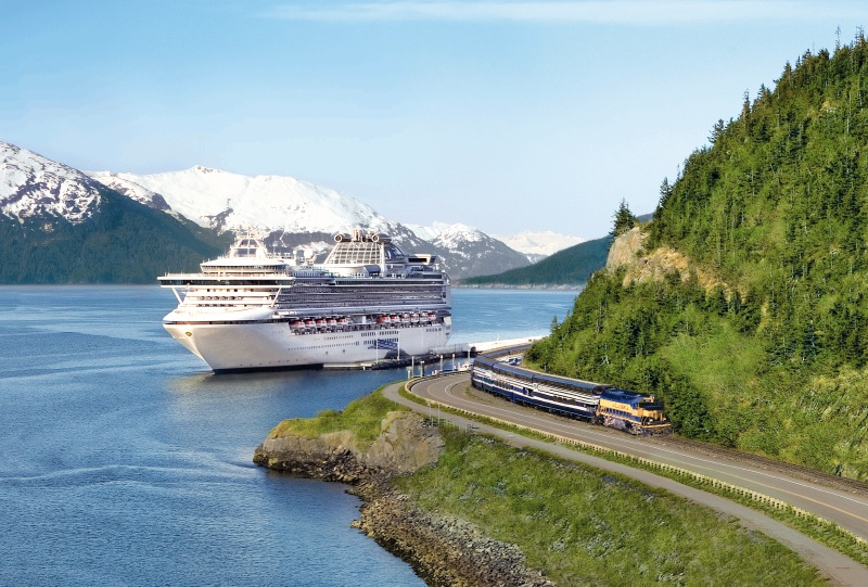 "Princess Cruises Named ""Best Cruise Line in Alaska""  by US Travel Weekly"