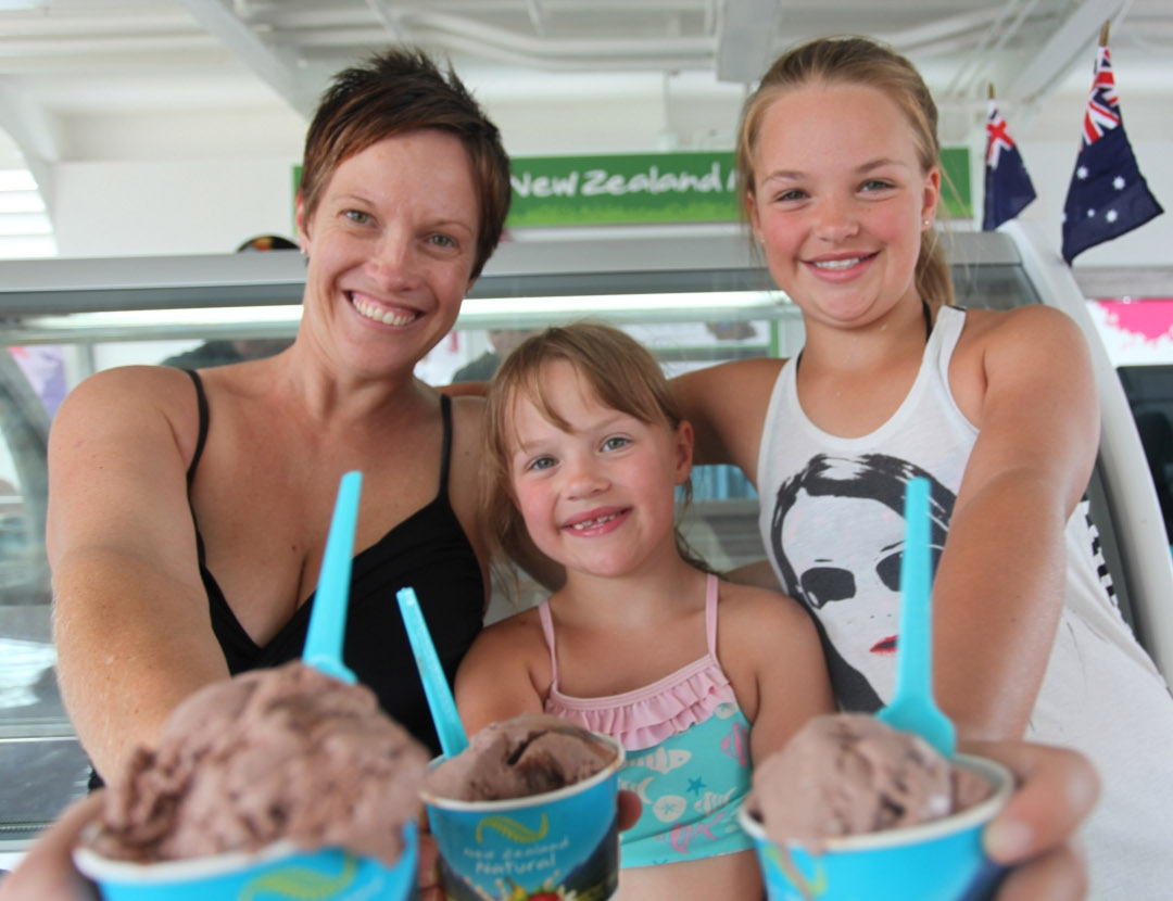 P&O Cruises passengers scream for ice cream