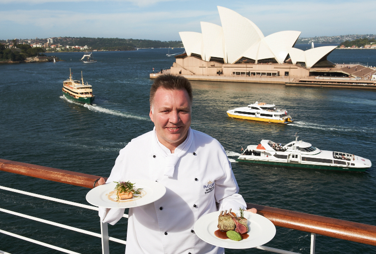 Arcadia's Executive Chef Ian Summers