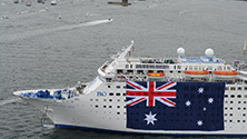 Farewell Announcement for P&O Cruises' Pacific Sun