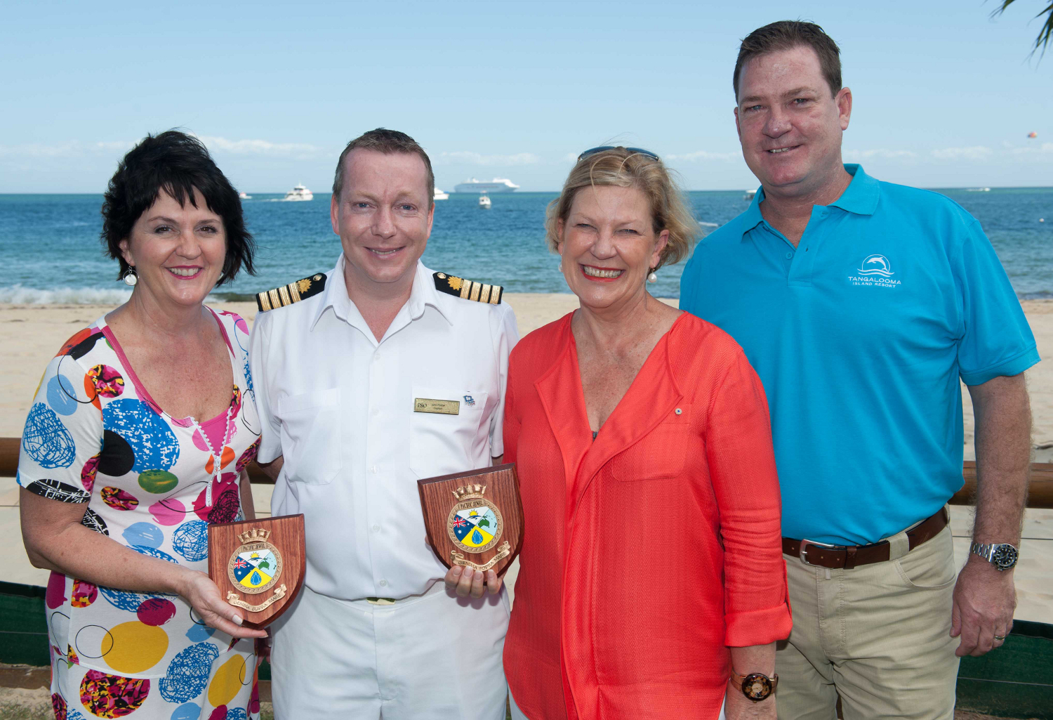 P&O puts Moreton Island on the cruise map
