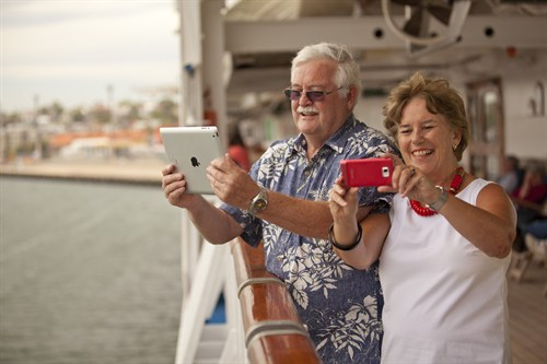 Princess Cruises ' Passengers Terry And Margaret Malone