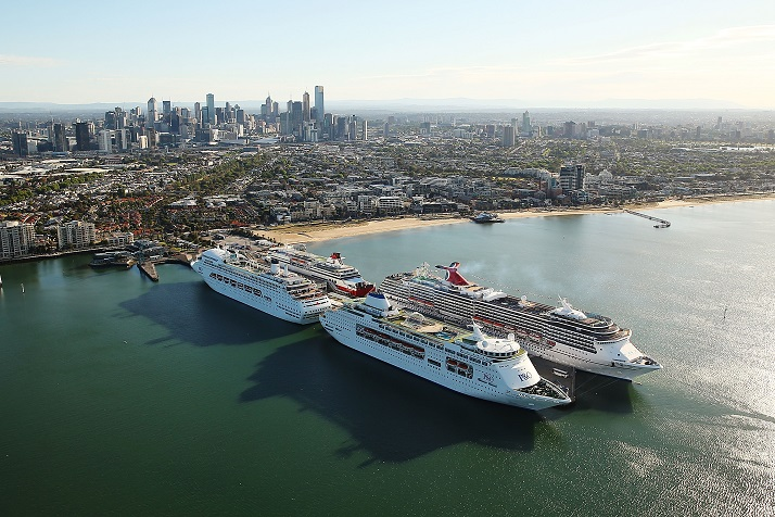 Trifecta of Ships a Winning Ticket for Melbourne