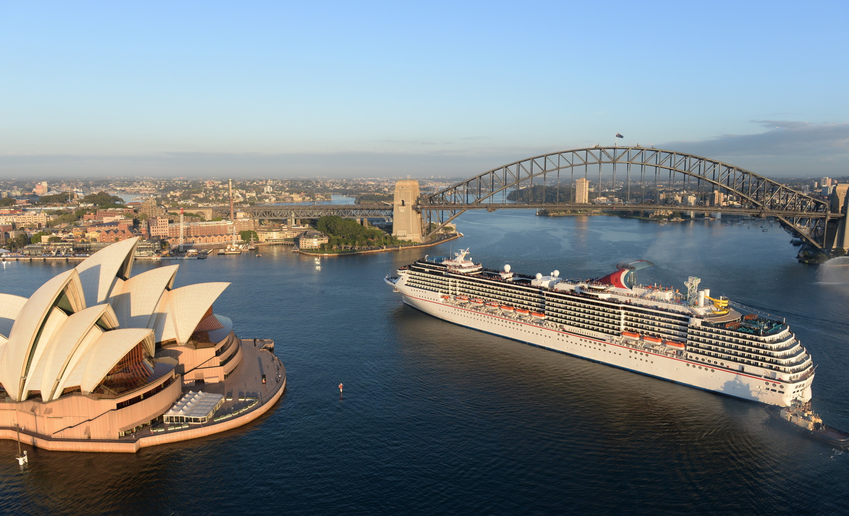 Carnival Australia Carnival Cruise Lines Carnival Spirit - Cruise ship movements sydney harbour