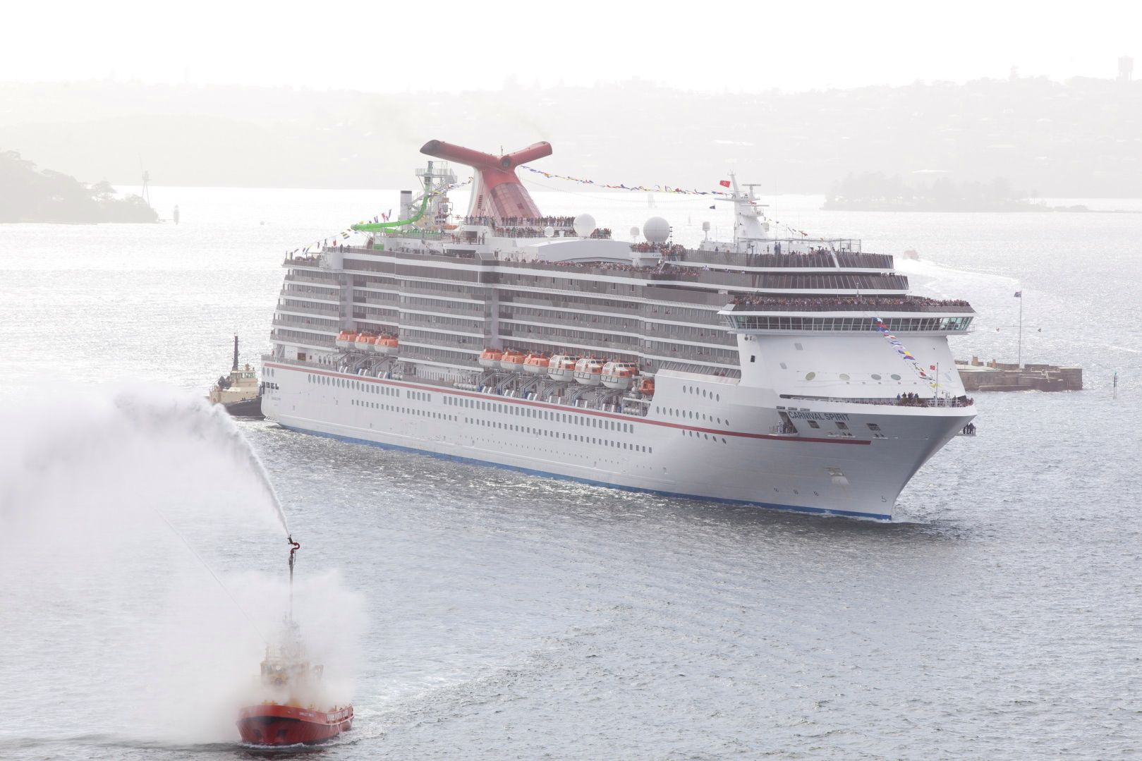 New Zealand says kia ora to Carnival Spirit – the newest and largest ship to call Australasia home